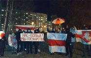 Белорусы вышли на воскресные протесты