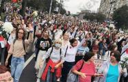 «Белорусские женщины показали сегодня всему миру, что они сильные и смелые»