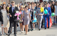 Видеофакт: Последние звонки в разных уголках Беларуси