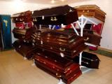 В Шумилино налоговики конфисковали гробы