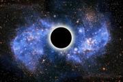 Физик имитировал излучение от черной дыры