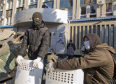 Луганские сепаратисты объявили об отделении от Украины