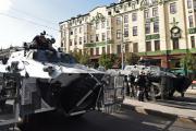 Для охраны гей-парада в Белграде применялась бронетехника