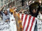 На антиамериканскую демонстрацию в Пакистане вышли 70 тысяч человек