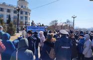 В Хабаровске прошла акция в поддержку депутатов из команды Фургала