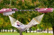В Нидерландах изобрели летающий гамак