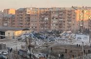 Во Владикавказе после мощного  взрыва обрушился супермаркет