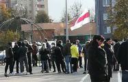 Жители Жодино сегодня также вышли на протест
