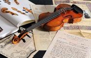 В Минск привезли скрипку Страдивари