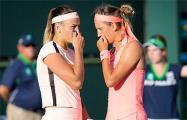 Азаренко и Соболенко проиграли в парном разряде на теннисном турнире в Майами