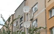 В Минске снова требуют снять антенны и кондиционеры с фасадов