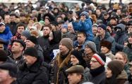 Телеканал ТСН: В Бресте тысячи людей недовольны налогом на «тунеядство»