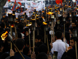 Блогеры выступили против факельного шествия студентов