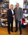 Санников и Квасьневский обсудили ситуацию в регионе