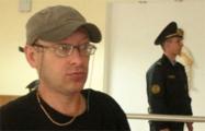 Активист в Гомеле протестует против запрета мирных собраний