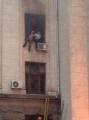 В Одессе горит Дом профсоюзов: есть погибшие