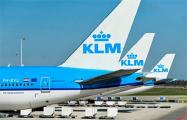 KLM приостановит полеты в воздушном пространстве Беларуси