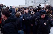 Тысячи жителей Волоколамска вышли на площадь