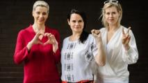 По СТВ показали видео с Тихановской, Колесниковой и Бабарико под песню «Накажи их, Боже»