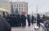 На марше пенсионеров в Минске задержали около 80 человек