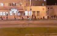 В Чижовке люди выстроились в цепь солидарности