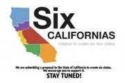 Калифорнию предложили разделить на шесть штатов