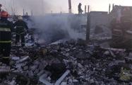 Взрыв в Бресте: рухнули 200 квадратных метров гаражей