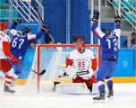 Российские хоккеисты проиграли Словакии в первом матче на Олимпиаде