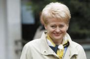 Грибаускайте опять защищает белорусскую власть