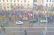 «Баста!»: еще одно впечатляющее видео с Дня Воли в Минске