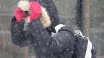 Снег с дождем, гололедицу и сильный ветер прогнозируют 1 января
