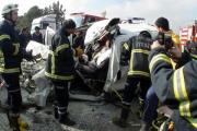 В результате столкновения микроавтобусов в Турции погибли11студентов