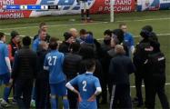 Футболисты из Екатеринбурга и Грозного подрались во время матча