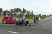 Известный минский байкер Дмитрий Степаненко попал в аварию