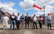 В Куропатах задержали активистку Татьяну Ким