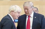 Джонсон и Трамп провели неожиданную встречу в Лондоне