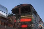 В Буда-Кошелевском районе загорелся тепловоз