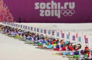 Олимпийский биатлон: украинки - чемпионки, белоруски - на 5 месте