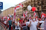 Звыш тысячы людзей прынялi ўдзел у Маршы салідарнасці з Беларуссю ў Беластоку