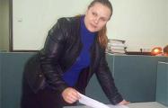 Завтра в Молодечно будут судить Алесю Садовскую