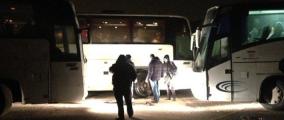 Три автобуса с детьми не выпустили из Беларуси из-за непройденного ТО
