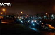 Жители Сухарево вышли на традиционное вечернее шествие