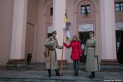 По улицам Минска ходят «реконструкторы» с российским имперским флагом