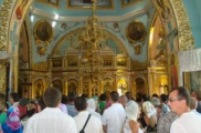 Будславской иконе Божьей Матери приехали поклониться тысячи паломников