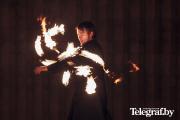 Фотофакт: Фестиваль огня в Минске
