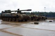 По Минску пройдут российские танки
