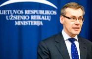 Андрюс Кривас: У Европейского Союза нет иллюзий в отношении Беларуси