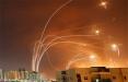 Система ПРО Израиля «Железный купол» перехватывает палестинские ракеты: стоп-кадр