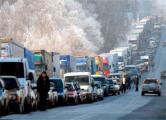 На границе с Литвой скопилось 1,3 тысячи грузовиков