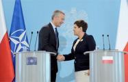 Беата Шидло: Предстоящие учения «Запад-2017» должны сплотить НАТО
